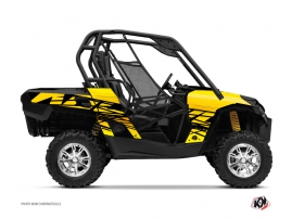 Can Am Commander UTV Eraser Graphic Kit Yellow