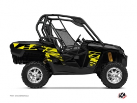 Can Am Commander UTV Eraser Graphic Kit Neon Grey