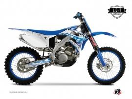 Kit Déco Moto Cross Eraser TM EN 450 FI Bleu LIGHT