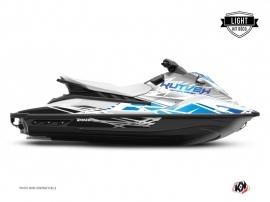 Kit Déco Jet-Ski Eraser Yamaha EX Blanc Bleu LIGHT