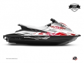 Kit Déco Jet-Ski Eraser Yamaha EX Blanc Rouge LIGHT