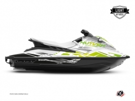Yamaha EX Jet-Ski Eraser Graphic Kit White Green LIGHT