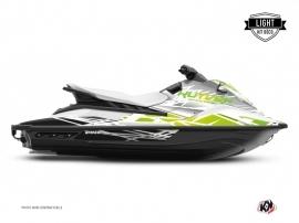 Kit Déco Jet-Ski Eraser Yamaha EX Blanc Vert LIGHT
