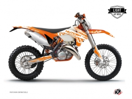 Kit Déco Moto Cross Eraser KTM EXC-EXCF Orange LIGHT