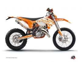 Kit Déco Moto Cross Eraser KTM EXC-EXCF Orange