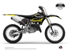 Kit Déco Moto Cross ERASER FLUO Yamaha 125 YZ Jaune LIGHT