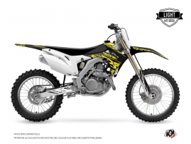 Kit Déco Moto Cross Eraser Fluo Honda 250 CRF Jaune LIGHT