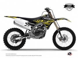 Kit Déco Moto Cross Eraser Fluo Yamaha 250 YZF Jaune LIGHT