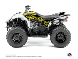 Yamaha 350-450 Wolverine ATV Eraser Fluo Graphic Kit Yellow