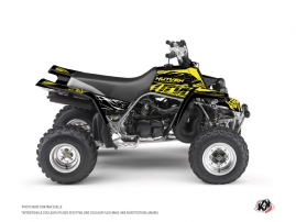 Yamaha Banshee ATV Eraser Fluo Graphic Kit Yellow