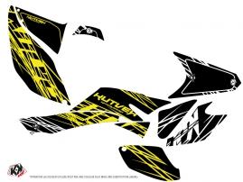 Honda 400 TRX ATV Eraser Fluo Graphic Kit Yellow