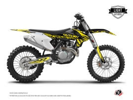Kit Déco Moto Cross Eraser Fluo KTM 450 SXF Jaune LIGHT