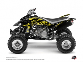 Yamaha 450 YFZ ATV Eraser Fluo Graphic Kit Yellow