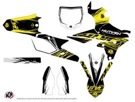 Yamaha 450 YZF Dirt Bike Eraser Fluo Graphic Kit Yellow