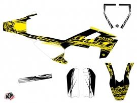 Husqvarna TC 50 Dirt Bike Eraser Fluo Graphic Kit Yellow
