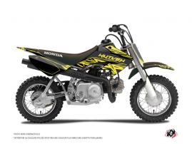 Kit Déco Moto Cross Eraser Fluo Honda 50 CRF Jaune