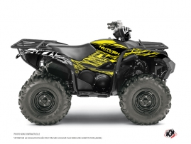Yamaha 700-708 Grizzly ATV Eraser Fluo Graphic Kit Yellow