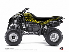 Kawasaki 700 KFX ATV Eraser Fluo Graphic Kit Yellow