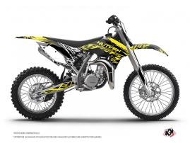 KTM 85 SX Dirt Bike Eraser Fluo Graphic Kit Yellow