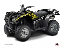 Honda Rancher 420 ATV Eraser Fluo Graphic Kit Yellow