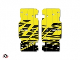 Graphic Kit Radiator guards Eraser Fluo KTM SX-SXF 2015 Yellow