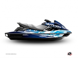Kit Déco Jet Ski Eraser Yamaha FX Bleu