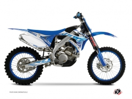 Kit Déco Moto Cross Eraser TM MX 300 Bleu