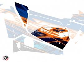 Graphic Kit Doors Origin Low Eraser UTV Polaris RZR 900S/1000/Turbo 2015-2017 Blue Orange
