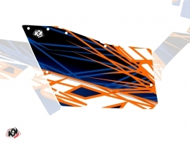 Graphic Kit Doors Origin Polaris Eraser UTV Polaris RZR 570/800/900 2008-2014 Blue Orange