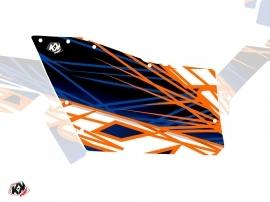 Kit Déco Portes Origine Polaris Eraser SSV Polaris RZR 570/800/900 2008-2014 Bleu Orange