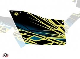 Kit Déco Portes Origine Polaris Eraser SSV Polaris RZR 570/800/900 2008-2014 Neon Bleu
