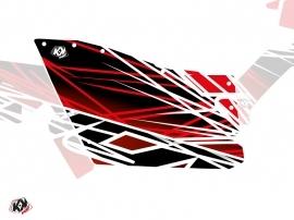 Kit Déco Portes Origine Polaris Eraser SSV Polaris RZR 570/800/900 2008-2014 Rouge Blanc