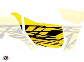 Graphic Kit Doors Suicide Pro Armor Eraser Can Am Maverick 2012-2017 Yellow
