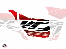 Graphic Kit Doors Suicide Pro Armor Eraser Can Am Maverick 2012-2017 Red White