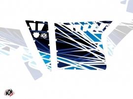 Kit Déco Portes Suicide Pro Armor Eraser SSV Polaris RZR 570/800/900 2008-2014 Bleu