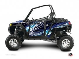 Graphic Kit Doors Suicide Pro Armor Eraser UTV Polaris RZR 570/800/900 2008-2014 Blue