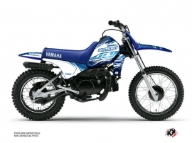 Yamaha PW 80 Dirt Bike Eraser Graphic Kit Blue