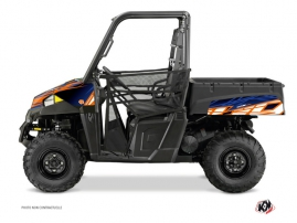 Kit Déco SSV Eraser Polaris Ranger 570 Bleu Orange
