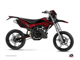 Beta RR 50 50cc Eraser Graphic Kit Black Red
