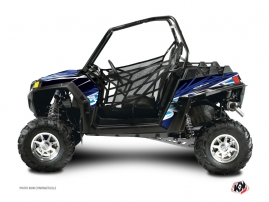 Polaris RZR 800 S UTV Eraser Graphic Kit Blue