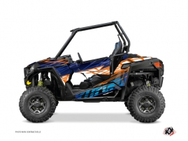 Kit Déco SSV Eraser Polaris RZR 900 S Bleu Orange