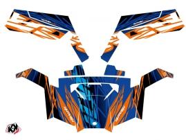 Kit Déco SSV Eraser Polaris RZR 900 XP Bleu Orange