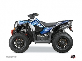 Polaris Scrambler 850-1000 XP ATV Eraser Graphic Kit Blue