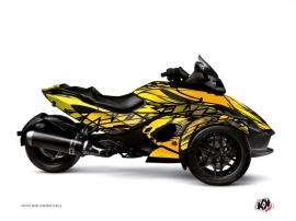 Kit Déco Eraser Can Am Spyder RS Jaune
