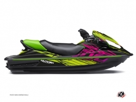 Kawasaki STX 15F Jet-Ski Eraser Graphic Kit Green