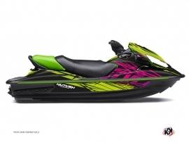 Kit Déco Jet Ski Eraser Kawasaki STX 15F Vert