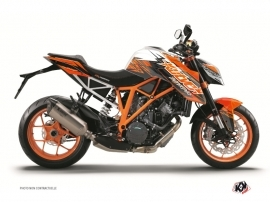 Kit Déco Moto Eraser KTM Super Duke 1290 R Orange Noir