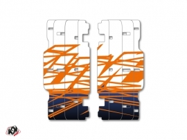 Graphic Kit Radiator guards Eraser KTM SX-SXF 2015 Blue Orange