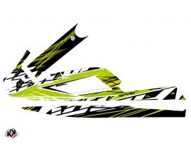 Kit Déco Jet-Ski Eraser Kawasaki SXI 750 Vert Noir