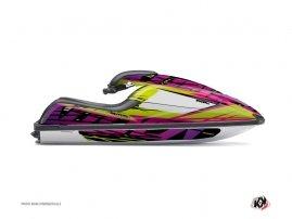 Kit Déco Jet Ski Eraser Kawasaki SXR 800 Vert